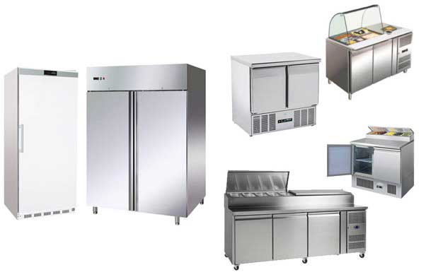 Catering Kitchen Fridges