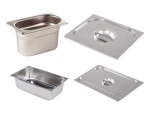 Gastronorm Containers & Lids, Pans