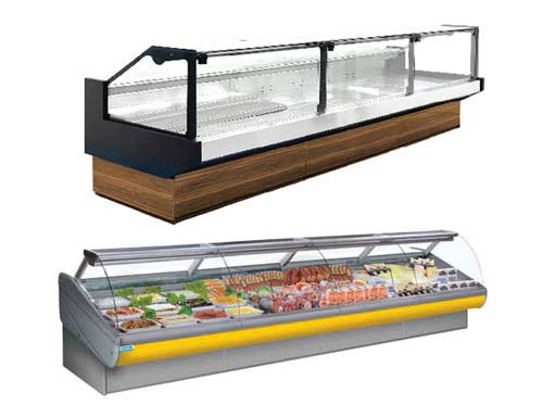Remote Meat Display Fridge