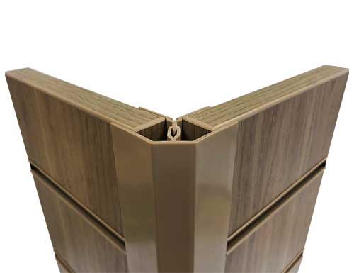 Slatwall Wood & Metal Panel Trims