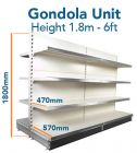Gondola Unit 180cm x Base 57cm