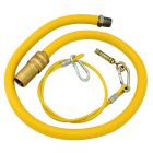 Caterquip 1/2in x 1200mm Gas Catering Hose
