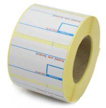 CAS compatible 2 Colour Scale Labels 58mm x 40mm (40 Rolls - 30,000 Labels)