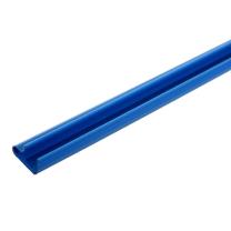 Blue PVC Slatwall Inserts for Slatwall Panels