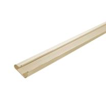 Cream PVC Slatwall Inserts for Slatwall Panels