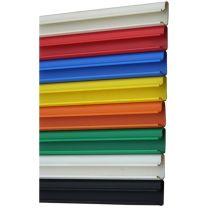Pack Of 12 PVC Slatwall Inserts for Slatwall Panels