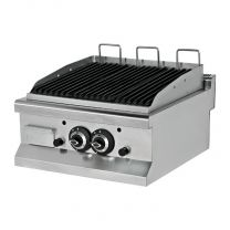 Gas Charcoal Grill 80cm
