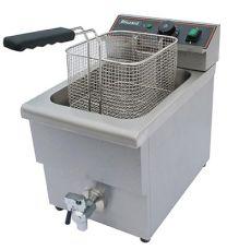 Single Electric Fryer With Tap 3000W 8L