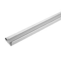 Grey PVC Slatwall Inserts for Slatwall Panels