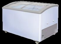 Sliding Glass Door Ice Cream Freezer SD/EC-222Y (161cm 5.28ft)