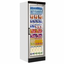 Glass Door Merchandiser White Range 60x180cm (2ft x 6ft)