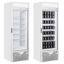 Single Glass Door Display Freezer 60cm (2ft) - 430 Litre