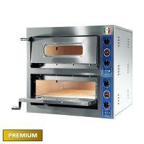 Italyco Premium Electric Pizza Oven 2 Baking Chambers 8.4kW