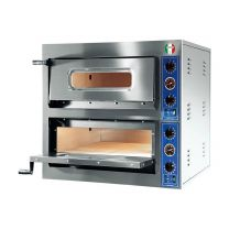 Italyco Electric Pizza Oven 2 Baking Chambers Economy 8.4kW