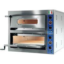 Italyco Electric Pizza Oven 2 Baking Chambers Economy 24kW