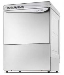 Commercial Undercounter Dishwasher Kromo 500x500mm 24 Amp