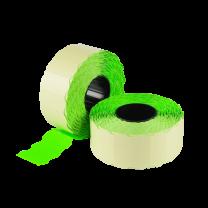 LYNX CT4 26x12mm Labels - Fluorescent Green Permanent (Box 45k)