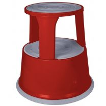 Red Metal Supa Step Stool
