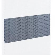 Perforated Back Panel for Shelving Units