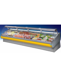Remote Meat Display Fridge Dolphin 125cm