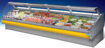 Remote Meat Display Fridge Dolphin 250cm