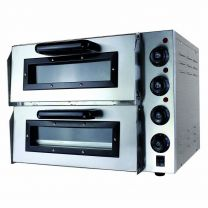 """Pizza Oven Twin Deck Chamber 2 x 20"""""""