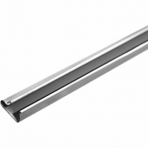 Silver PVC Slatwall Inserts for Slatwall Panels