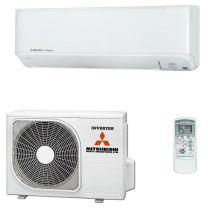 Mitsubishi Inverter SRK25ZSP-W Indoor, SRC25ZSP-W Outdoor 2.5KW Single Phase