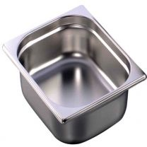 Elite Stainless Steel Gastronorm Pan GN 1/2 Depth 100mm
