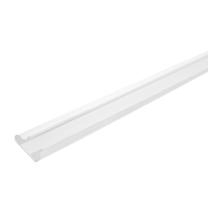 White PVC Slatwall Inserts for Slatwall Panels