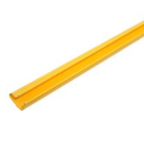 Yellow PVC Slatwall Inserts for Slatwall Panels