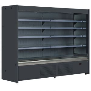 Open Front Supermarket Chilled Display Fridge ICY