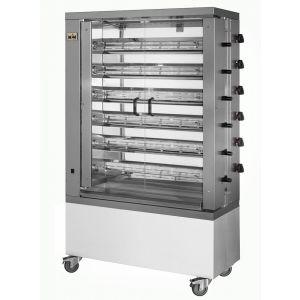 Chicken Rotisserie Gas Broiler Machine 6 Spits 36 Chicken MCM