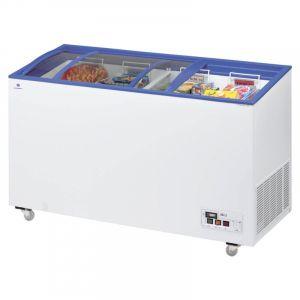 Sliding Curved Glass Lid Chest Freezer Arcaboa ACL430 1.5m - 392 Litre