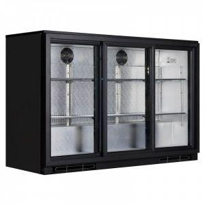 Bar Cooler 1.3m (1355mm 4ft) MCAB15 Sliding Door