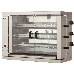 Chicken Rotisserie Gas Broiler Machine 3 Spits 18 Chicken MCM