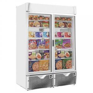 Double Glass Door Display Freezer 135cm (4.5ft) - 1047 Litre