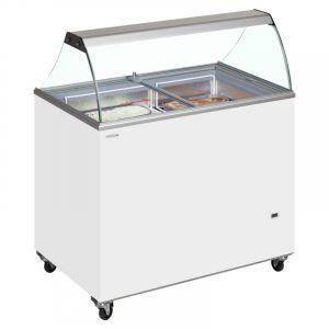 Scoop Ice Cream Display 155cm - 12 Tub