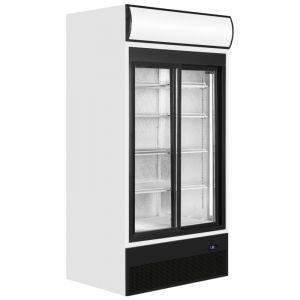Upright Sliding Glass Double Door Chiller 100cm (3.3ft) 771 Ltr