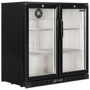 Back Bar Cooler Hinge Door 90cm - 3ft - 210Litre ICY