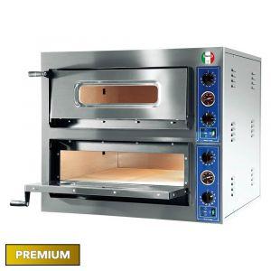 Italyco Premium Electric Pizza Oven 2 Baking Chambers 14,4kW