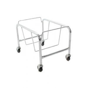 Heavy Duty Plastic Shopping Basket Stand