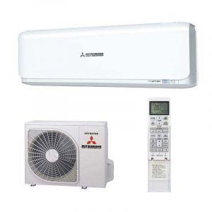 Mitsubishi Diamond Inverter SRK25ZSX-W Indoor, SRC25ZSX-W Outdoor 2.5kW Pure White