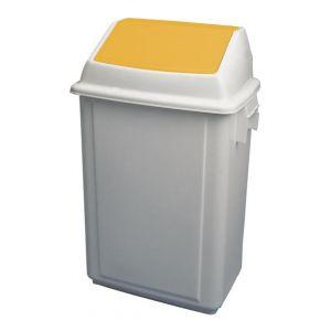 Bolero Bin Yellow 40 Litre